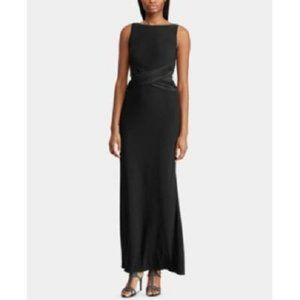 New Ralph Lauren Ruched Evening Prom Dress Gown